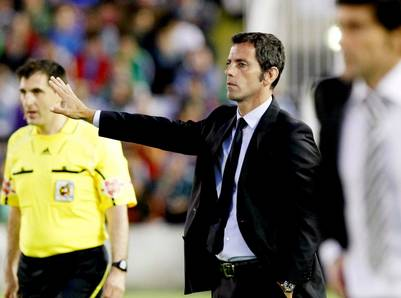 Quique Sánchez Flores, eje de una polémica. (EFE)