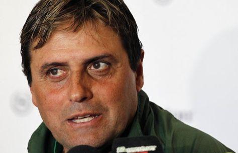 El director técnico Ángel Hoyos. Foto: Agencia UNO