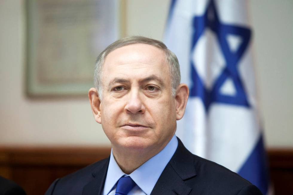 Netanyahu, este domingo en Jerusalén.