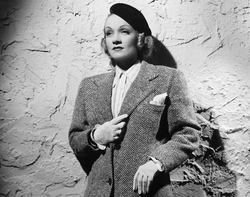 Marlene Dietrich, en 1942.