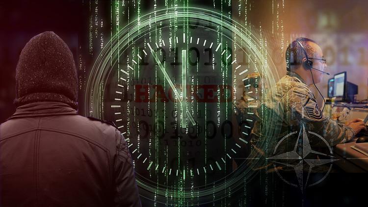 El secretario general de la OTAN amenaza con usar la fuerza militar contra los piratas informáticos