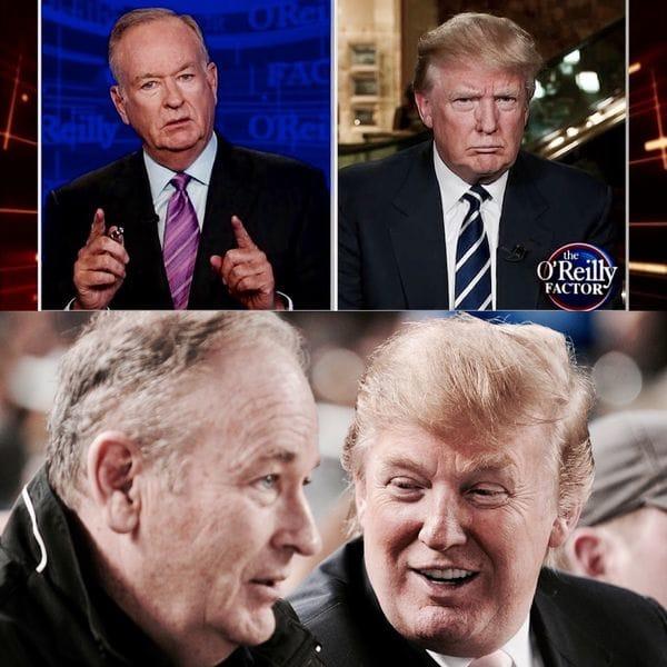 Bill O'Reilly ha hecho pública su relación de amistad con el hoy presidente Donald Trump y en repetidas ocasiones ha sido criticado por su supuesta falta de objetividad a la hora de reportar noticias vinculadas al mandatario