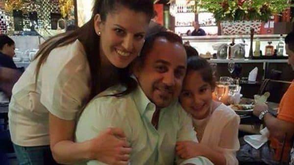 Zafrit Ruvio, Benyamin Benyamin y Shiraz, en una de las últimas fotos familiares. Los padres murieron en un accidente hace apenas una semana