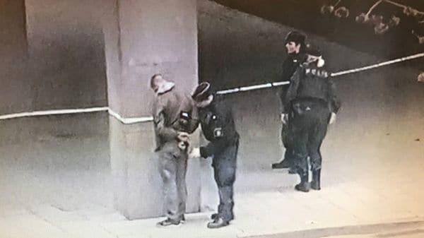 El detenido, cuya identidad aún se desconoce