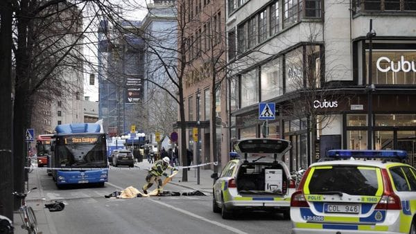 Atentado Estocolmo muertos