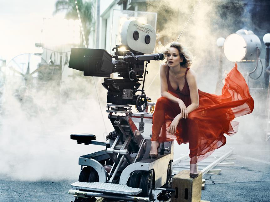 Jennifer Lawrence, fotografiada en Nueva York.