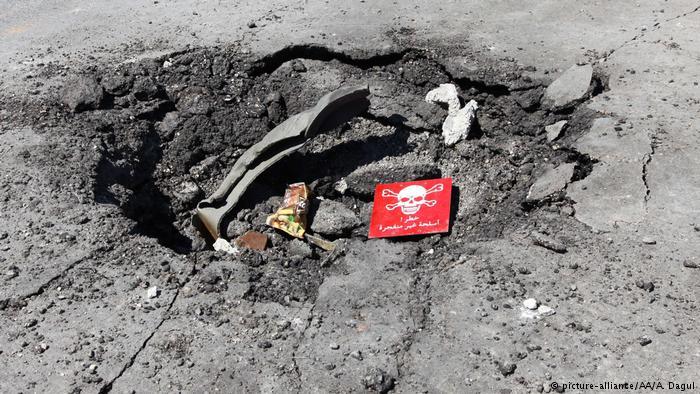 Syrien Giftgasanschlag in Idlib (picture-alliance/AA/A. Dagul)