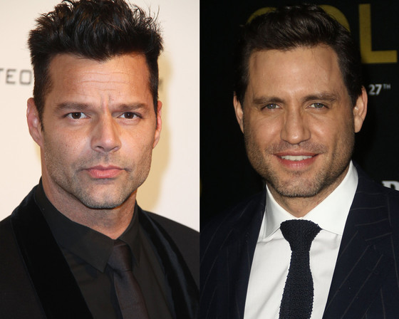 Ricky Martin, Edgar Ramírez