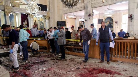 Atentado en Egipto contra dos iglesias deja más de 30 muertos.
