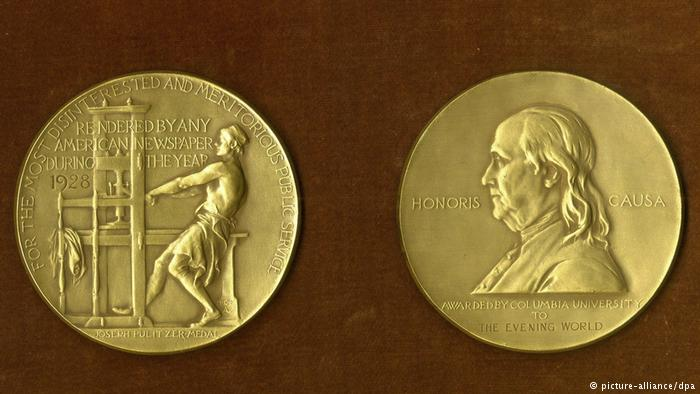 Medaille Pulitzer-Preis (picture-alliance/dpa)