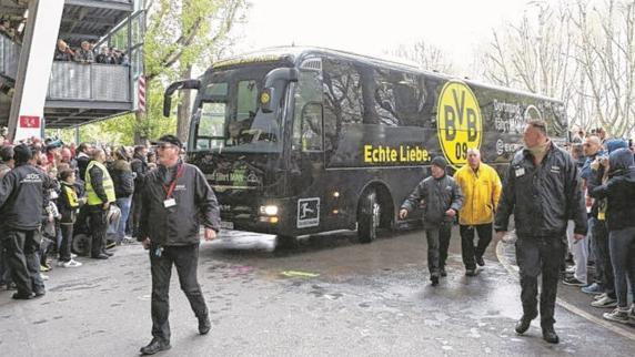Imagen de archivo del autobús del Dortmund