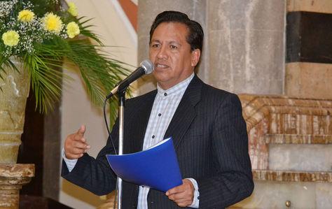 El ministro de la Presidencia, René Martínez.