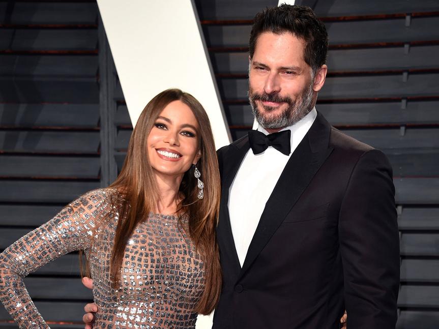 Sofía Vergara junto a su marido, John Manganiello.