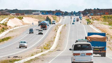 Corsán ejecutó un tramo de la ruta La Paz-Oruro.