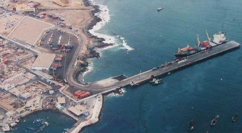 El puerto de Ilo, en el sur de Perú.