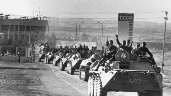 La Unión Soviética invadió Afganistán en 1979