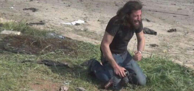 La potente imagen de un fotógrafo devastado por la masacre en Alepo