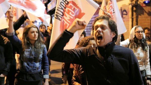 Protestas en Estambul por el resultado de las elecciones (Reuters)