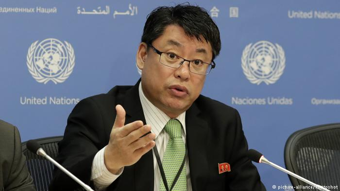 USA | Nordkoreas Botschafter bei den Vereinten Nationen Kim In Ryong (picture-alliance/Photoshot)