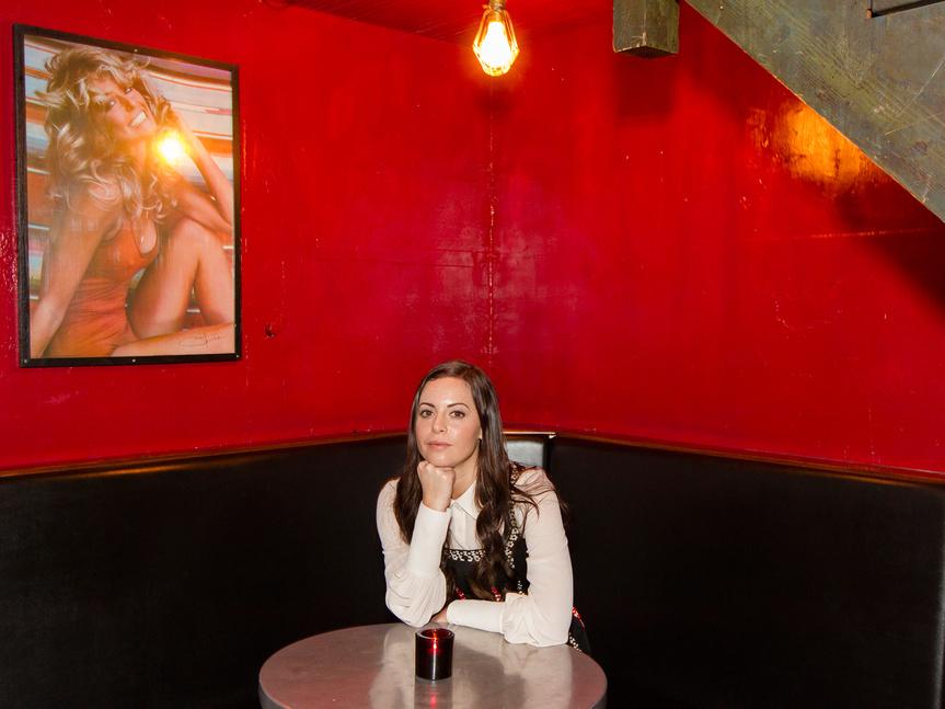 Sophia Amoruso en la presentación de su libro #Girlboss.