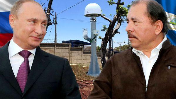 Vladimir Putin y Daniel Ortega sellaron un acuerdo mediante el cual Rusia podrá usar instalaciones destinadas al monitoreo espacial para el espionaje