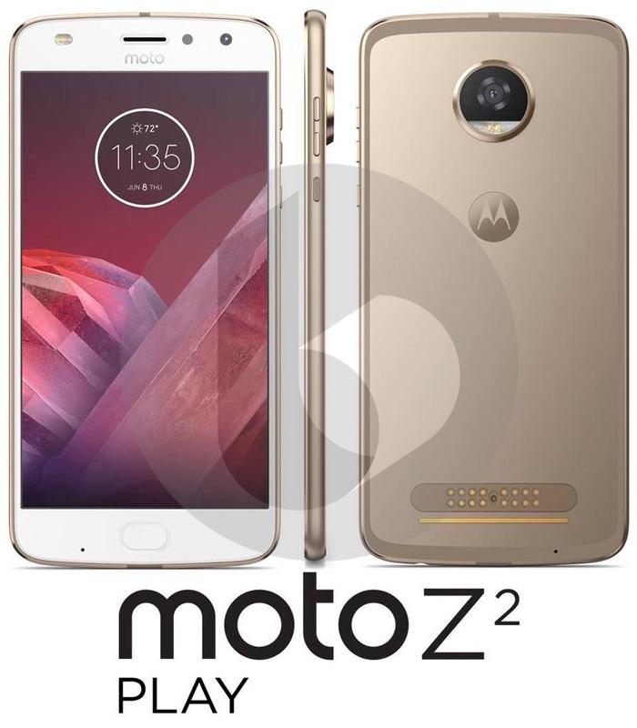 Diseño del Moto Z2 Play