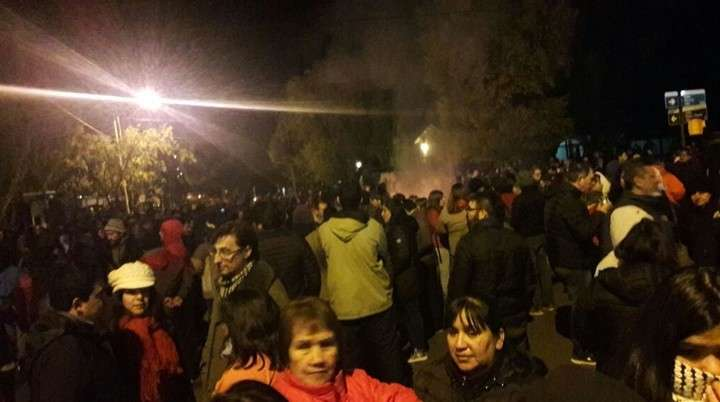 Graves incidentes en una protesta contra Cristina y Alicia Kirchner