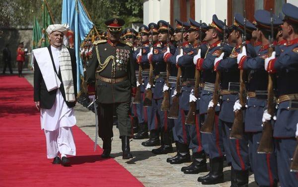 El presidente de Afganistán, Ashraf Ghani (AP)