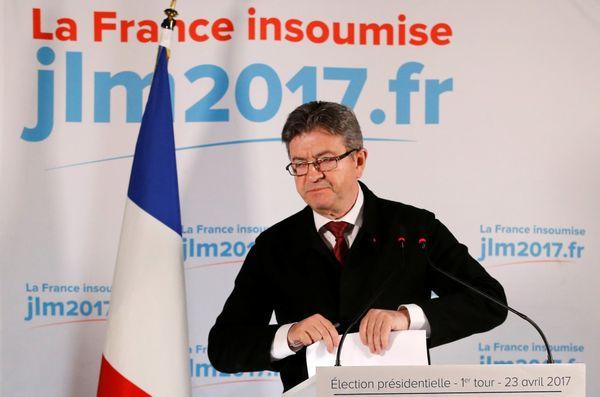 Jean-Luc Melenchon, candidatode la izquierda, no ha definido a quién apoyará en el ballotage(REUTERS/Stephane Mahe)