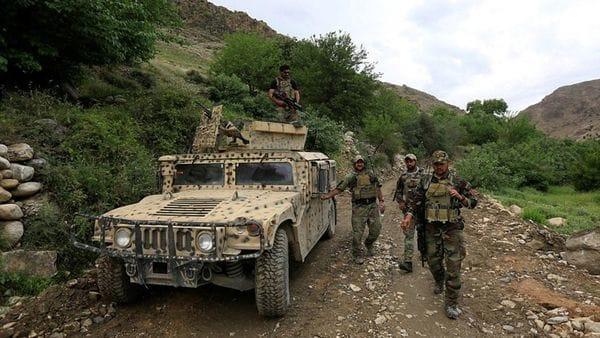 La zona es custodiada por las fuerzas norteamericanas y afganas