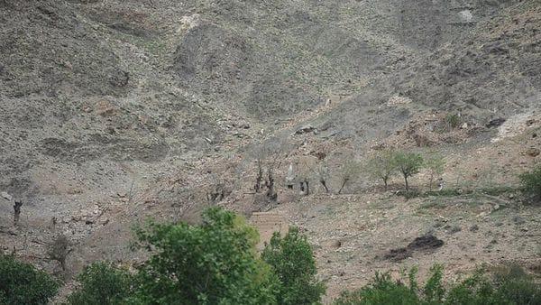 En la ladera de la montaña también se observan cráteres