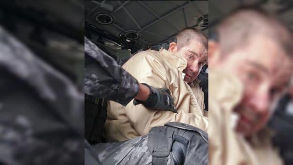 La primera imagen de la extradición de Guzmán.
