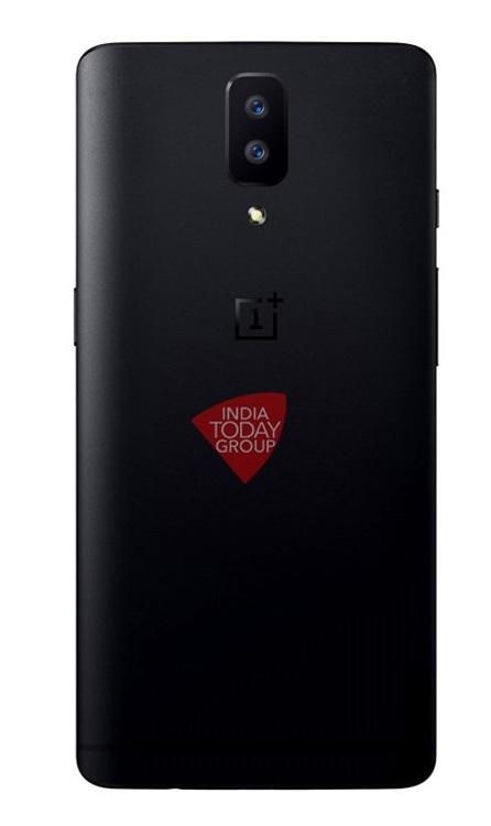 Imagen con el diseño del OnePlus 5 con doble cámara trasera
