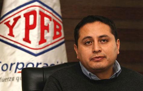 Guillermo Achá, presidente de YPFB