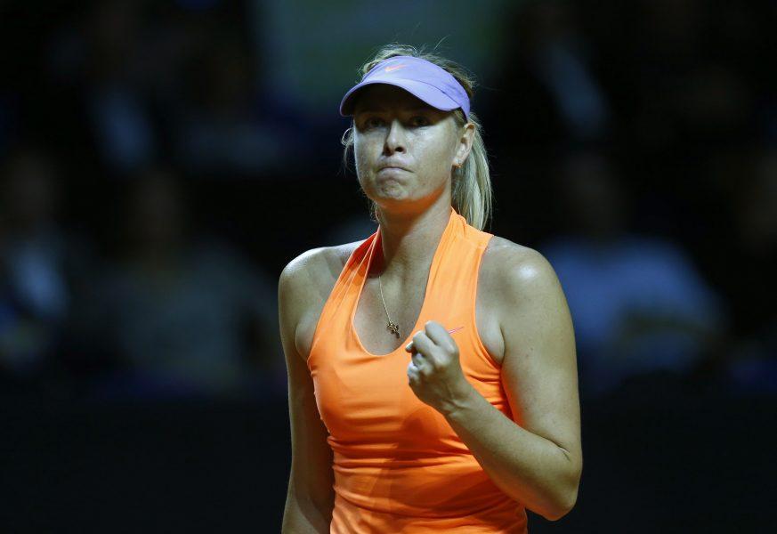 La tenista rusa Maria Sharapova (Foto: Reuters)