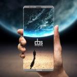 Display del Samsung Galaxy Note 8
