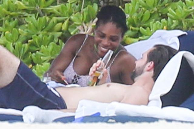 Serena y Alexis, de vacaciones en México hace unos días.