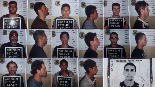 Los detenidos por el asalto a Prosegur
