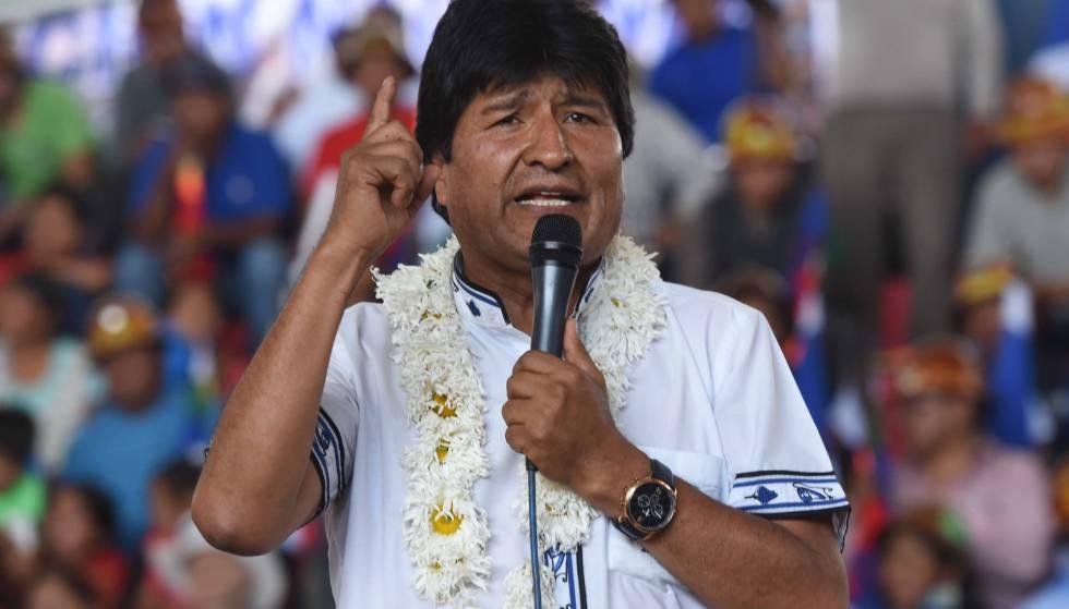 Resultado de imagen de Evo Morales