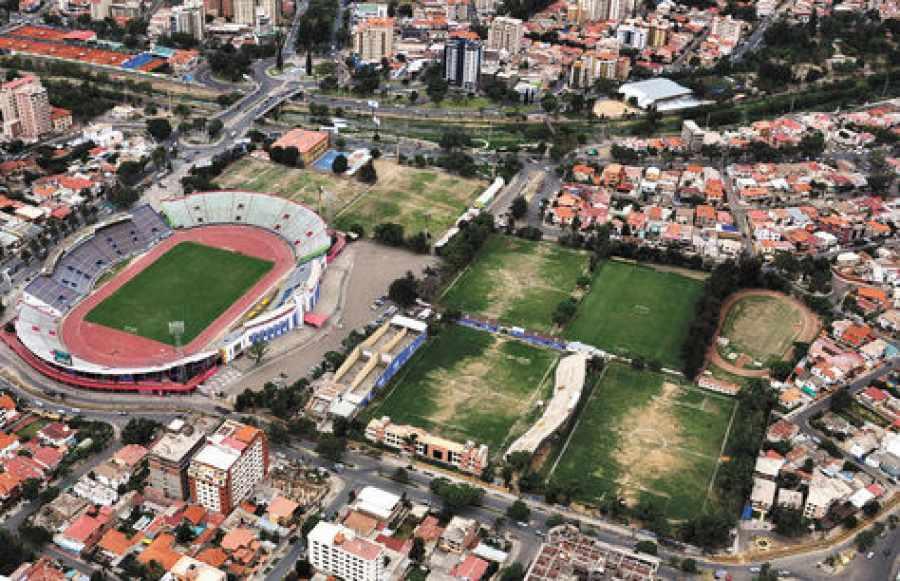 Resultado de imagen de villa para Juegos Sudamericanos de Cochabamba