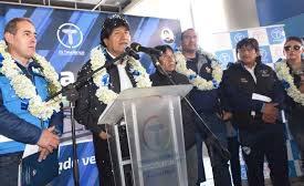 Morales entrega tanques de almacenamiento de agua a cuatro distritos de Sucre