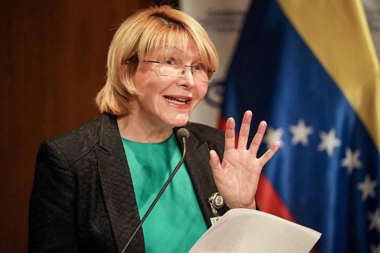 La fiscal general venezolana, Luisa Ortega Díaz, ofrece una rueda de prensa el miércoles 28 de junio de 2017, en Caracas (Venezuela).