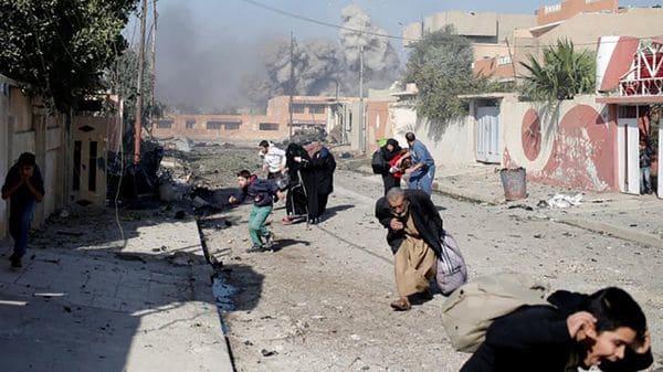 El atentado se produjo en un campo de refugiados de Irak