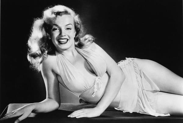 MarIlyn, en pleno esplendor, en una foto de 1950. (Getty Images)