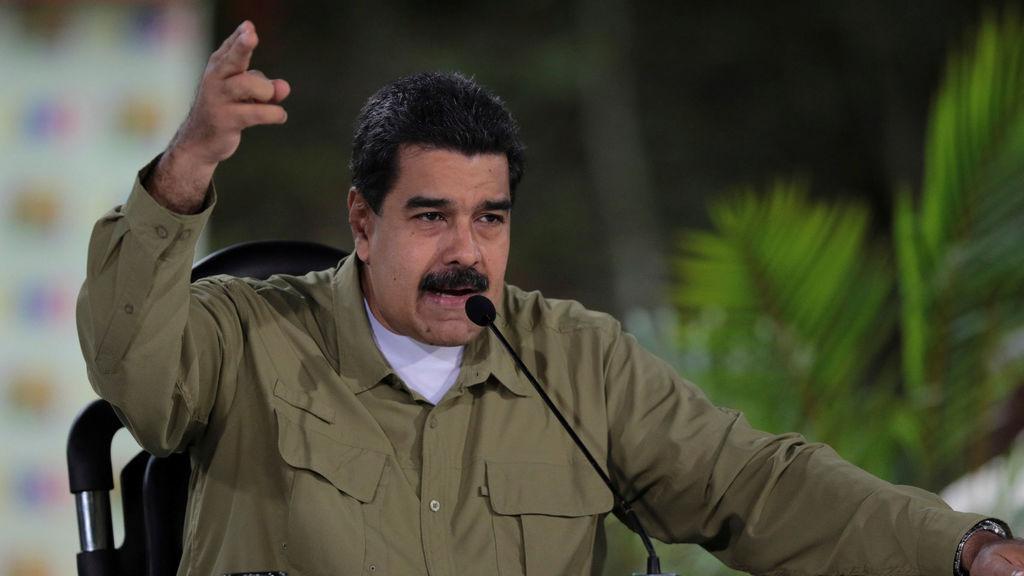 El presidente venezolano, durante la emisión del programa