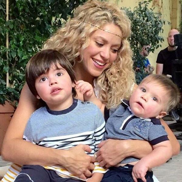 Shakira, Milan, Sasha