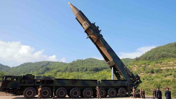 Hwasong-14, elprimer misil balístico intercontinental de Corea del Norte (Reuters/KCNA)
