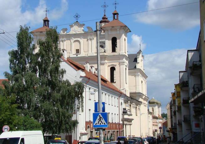 Iglesia del Santo Espíritu en Vilna. (Creative Commons)