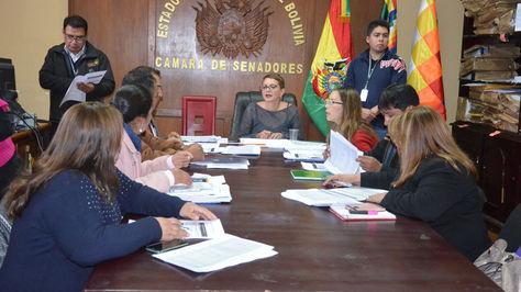 Comisión legislativa a cargo de la evaluación de méritos