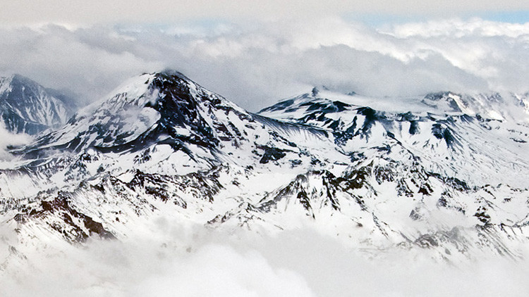 El volcán Tupungatito, en la frontera entre Argentina y Chile, registra un disparo sísmico